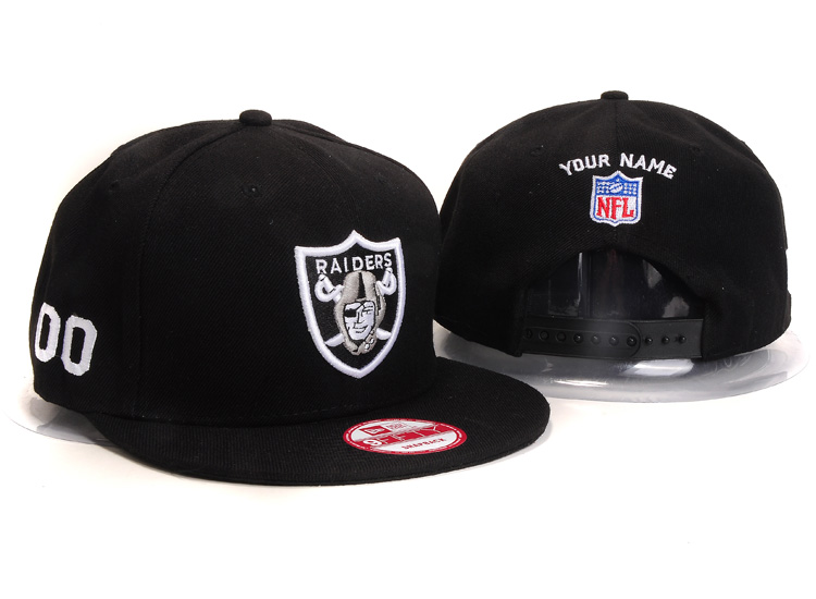 Oakland Raiders NFL Customized Hat YS 108
